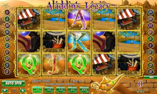 aladdin 3d slots play for free