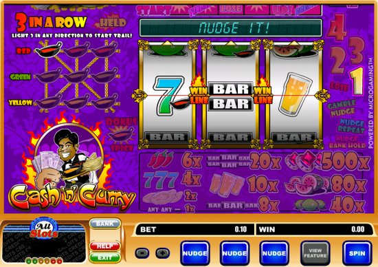 Cash 'n' Curry Slots - Try this Online Game for Free Now