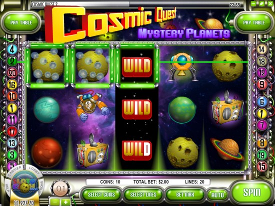 Cosmic Quest 2™ Slot Machine Game to Play Free in Rivals Online Casinos