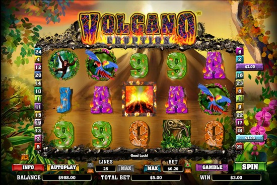 Hot Volcano Slot - Play Toptrend Gaming Games for Fun Online