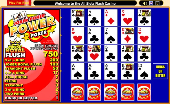 slots games online for free joker poker