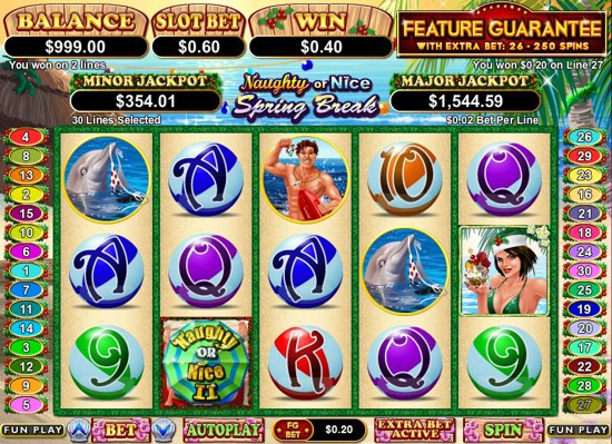 Naughty Or Nice Slots - Try this Free Demo Version