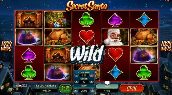 Secret santa slot free