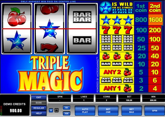 Reel Magic Slot Machine - Play this Game for Free Online